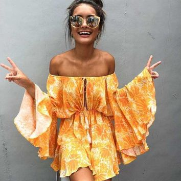 Sweet Sunrise Romper