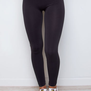 Like A Friend Leggings - Charcoal