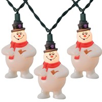 Frosty The Snowman Set of 10 String Lights