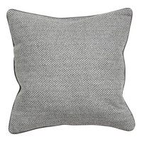 H&M - Wool-blend Cushion Cover - Gray