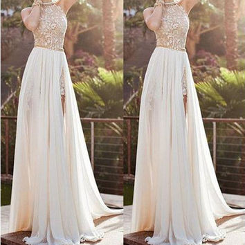 Prom Dress Sleeveless Slim One Piece Dress [6044825473]