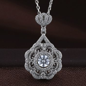 Royal Crown Swarovski Crystal Necklace