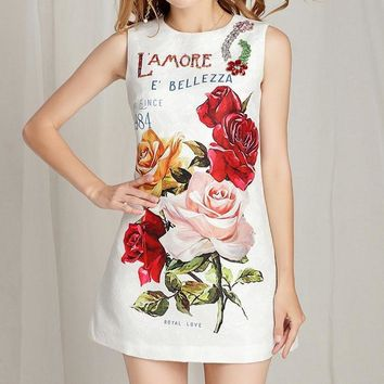 Royal Love Tank Dress