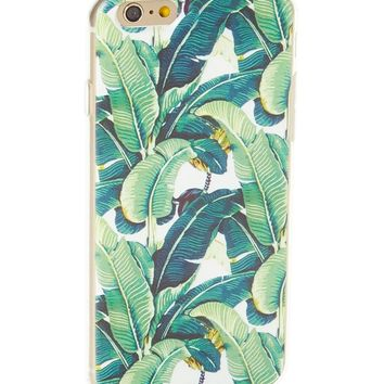 Palm Leaf Soft Case for iPhone 5 / 5S & SE