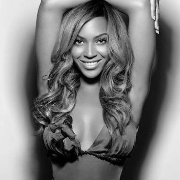 "Beyonce Poster Black and White Poster 24""x36"""