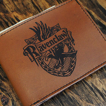 Harry Potter Ravenclaw Leather Wallet [multicolors] [customizable]