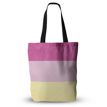 "Catherine McDonald ""Color Block Purple"" Everything Tote Bag"