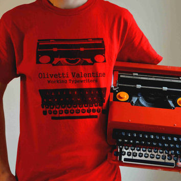 7 DAY SALE - Olivetti Valentine Tshirt - Men