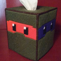 Teenage Mutant Ninja Turtle Tissue Box Cover