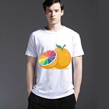 Strong Character Stylish Creative Short Sleeve Cotton Summer Casual Tee Fashion Men's Fashion T-shirts = 6450417539
