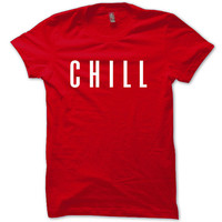 Netflix Shirt Netflix and Chill, TV, Movies, Orange Is The New Black T-Shirt Red Unisex T-Shirt Tee S,M,L,XL #3