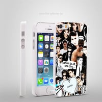 justin bieber edit Omg Hard Back White Case Coque Cover for iPhone 4/4s 5/5s 5c 6/6 Plus
