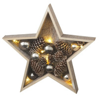 Lighted LED Star Illuminated Table Christmas Decoration