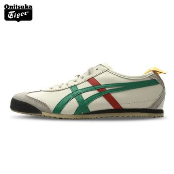 qiyif Onitsuka Tiger MEXICO 66 Men Sport Shoes Classical Breathable Unisex Shoes Lightweight Women Sneakers