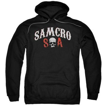 ac spbest Sons Of Anarchy - Samcro Forever Adult Pull Over Hoodie
