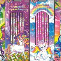 Lisa Frank 4 Set Pencils
