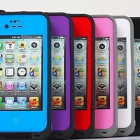 100% New White LifeProof Water Proof Case For Apple iPhone 4 4S Cover/Shell/Cove:Amazon:Cell Phones & Accessories