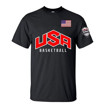 USA Basketball Flag T-Shirt