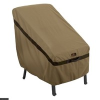 Classic Accessories Hickory Highback Chair Cover Tan