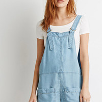 Life In Progress Chambray D-Ring Overalls