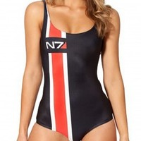 Mass Effect Swimsuit, Mass Effect Clothing