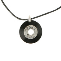 Falling In Reverse Record Cord Necklace