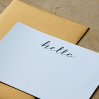 Hello Card 4-Pack