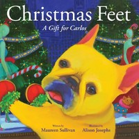 Christmas Feet (Carlos the French Bulldog)