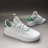 """""""Adidas NMD HU"""" Fashion Casual Knit Fly Line Unisex Sneakers Couple Running Shoes"""