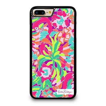 lilly pulitzer summer iphone 4 4s 5 5s se 5c 6 6s 7 8 plus x case  number 1