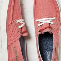 AEO Men's Otto Chambray Boat Shoe (Red)