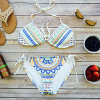 This Is Summer Bikini Set- Ivory