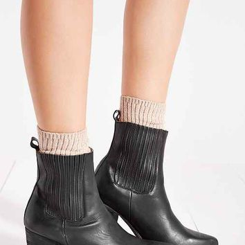 Jeffrey Campbell Bentley Distressed Boot- Black