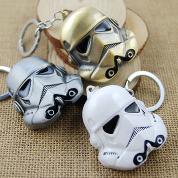 Star Wars StormTrooper Helmet Keychain (Multiple Colors)