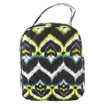 Danielle Morgan Lunch Bag Ikat Print - Multicolor