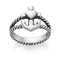 Faith, Hope, & Love Twisted Rope Ring | James Avery