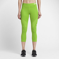 The Nike Pro Hypercool Women's Training Capris.
