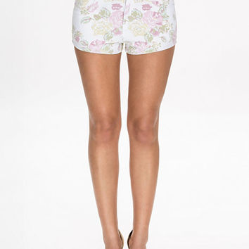 Printed Denim Shorts, NLY Trend