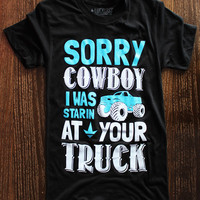 Luckless Clothing Co | Sorry Cowboy (Black)