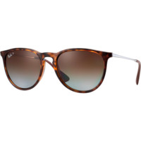 Ray Ban Erika Sunglass Tortoise Brown Polarized RB4171 710/T5
