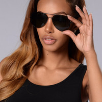 Maverick Sunglasses - Black