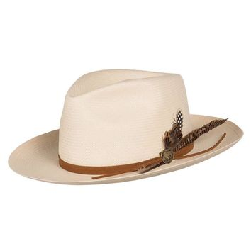 Tallahassee Shantung Western Fedora by Stetson