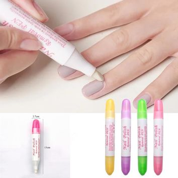 1 Pc Nail Art Corrector Pen Remove Mistakes + 3 Tips Newest Nail Polish Corrector Pen Cleaner Erase Manicure