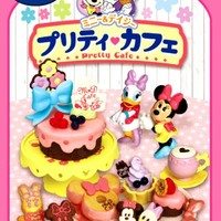 Re-Ment Disney Minnie & Daisy Pretty Cafe Miniature - Re-Ment Miniature