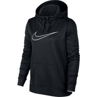 Nike Women's Therma Pullover Swoosh Training Hoodie | Academy