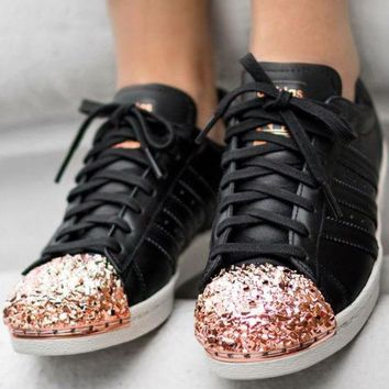 Adidas Originals Superstar 80s Metal Toe More H 8-30