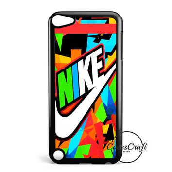 Just Do It Colorfull Pastel iPod Touch 5 Case