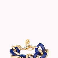Standout Colored Chain Bracelet