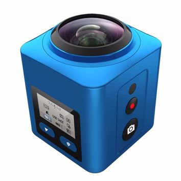 MARVIE S2 4K 360VR Ultra Panorama video Camera HD 1080P mini wireless Sports Waterproof Action DV camcorder 360 Degree camera