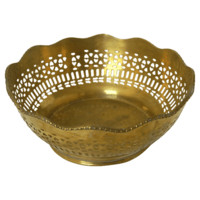 Brass Filigree Bowl #huntersalley